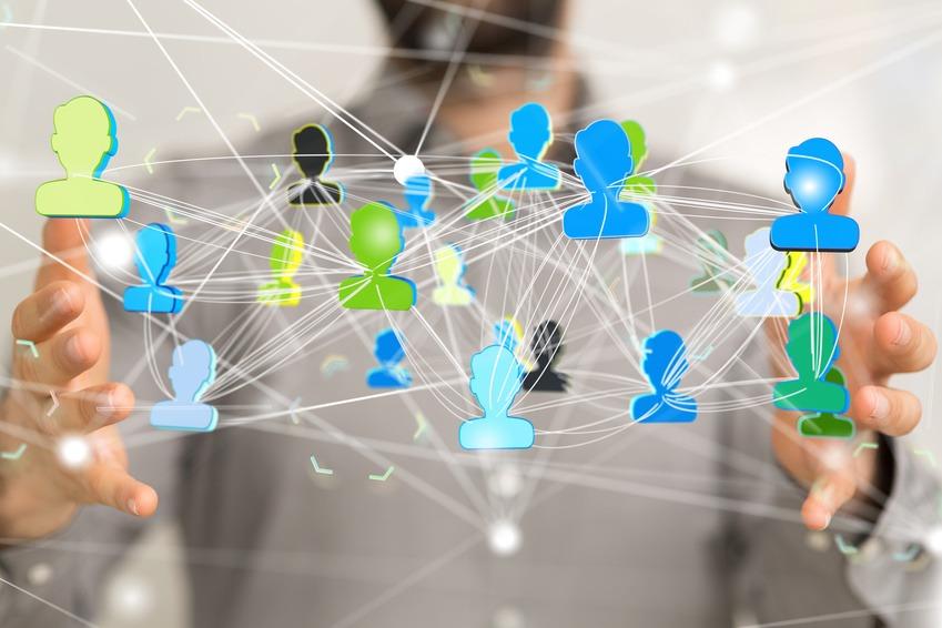 Kontaktmanager eine CRM Software um Kontakte zu verwalten